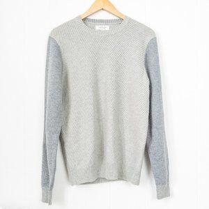 Frank And Oak Yak Wool Crewneck Sweater
